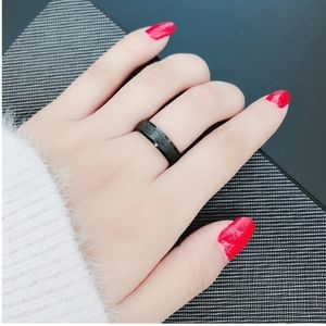 Jewelry - PREVIEW Solid Stainless Steel Gunmetal Black Ring